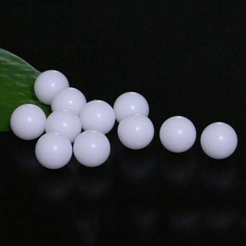 100x 3//6MM Polypropylen Kugel Solide Rollenlager Kunststoff Balls Hohe Qualität