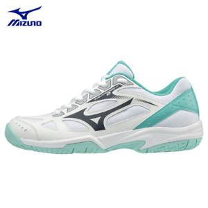 Détails sur MIZUNO Wave Cyclone Speed 2 Indoor Badminton Chaussures Blanc Comme neuf V1GC198013 Sz5 12 afficher le titre d'origine