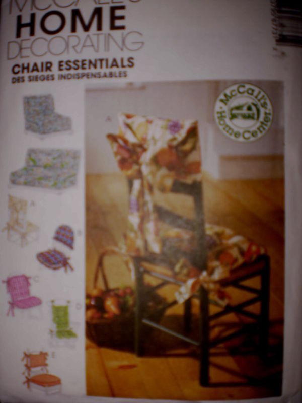 8773 Uncut Mccalls Sewing Pattern Chair
