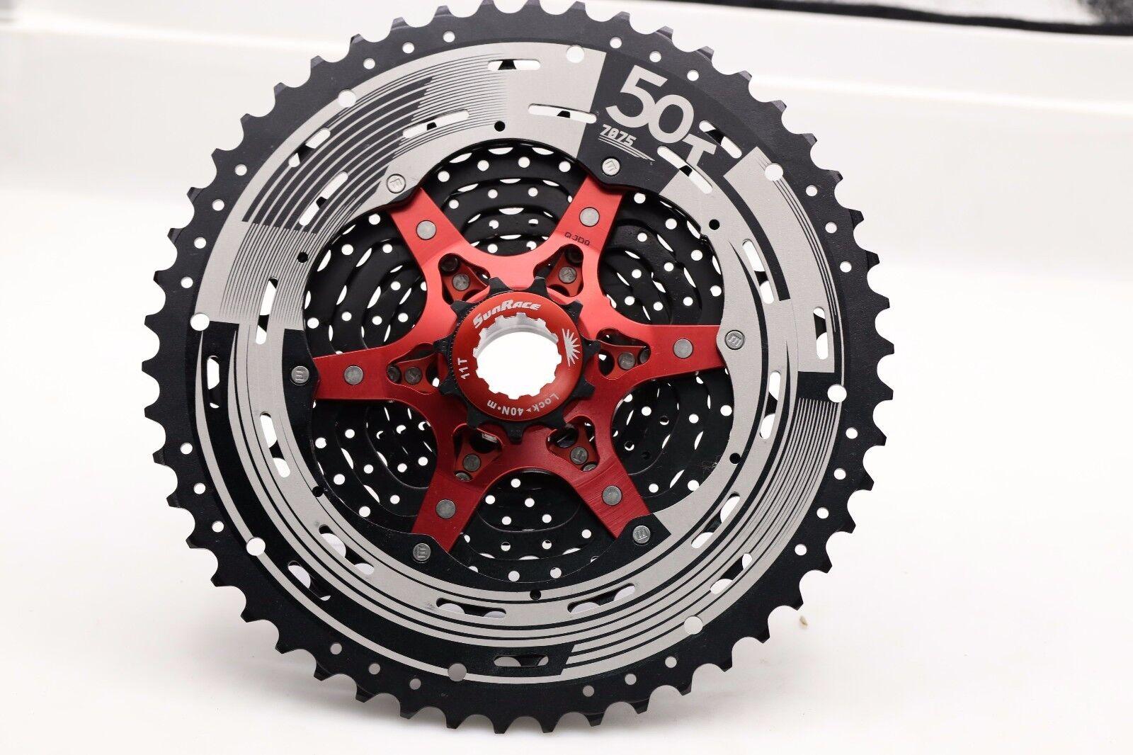 2018 Sunrace 12Speed CSMZ90 11-50T Cassette Bicycle Wide Ratio MTB Freewheel