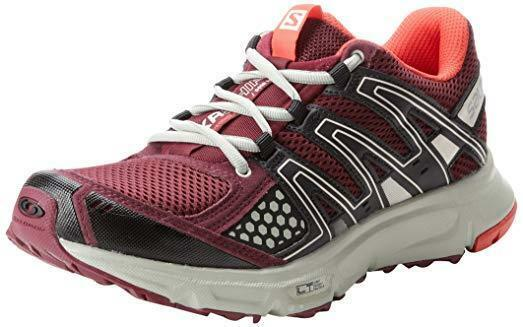 Salomon Womens US 7 EU 38.5 XR Shift Trail Running shoes Bordeaux FAST SHIP  B46