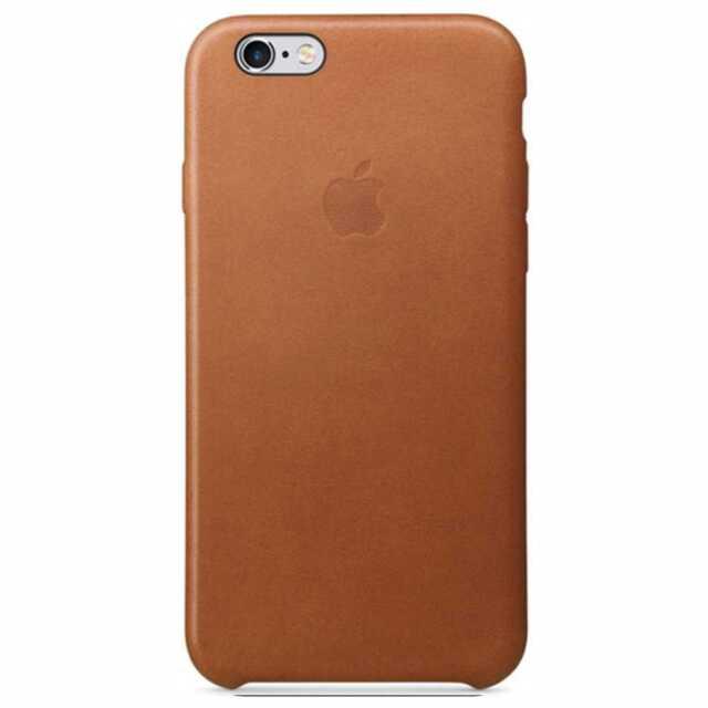 Coque Apple iPhone 6s Cuir Havane
