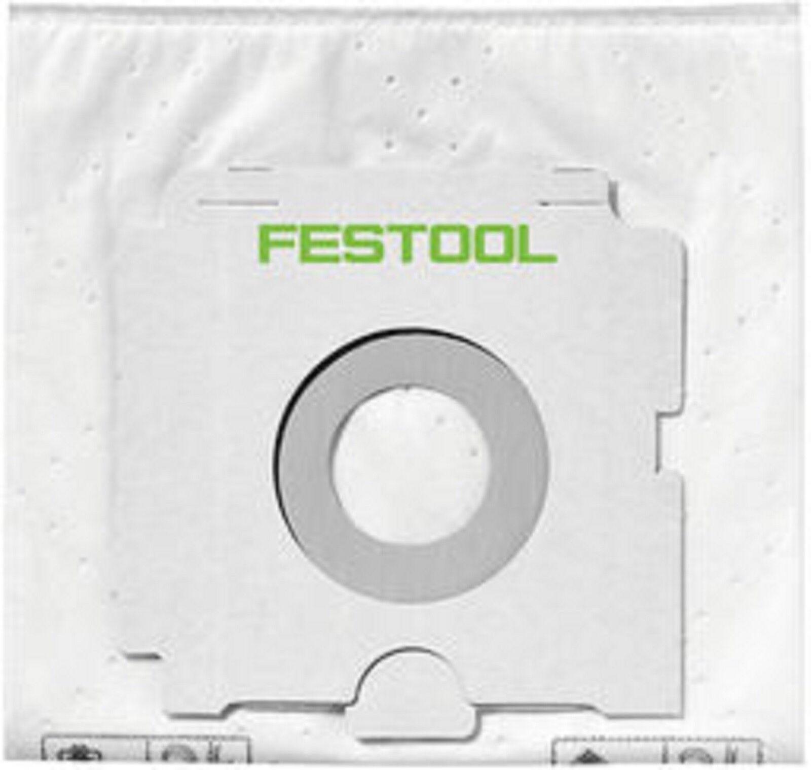 Festool Sacs Filtrants Sc Fis Ct 26 5 Ct26 Sachet Filtre Sac 496187 Poussière
