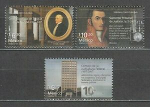 Mexico Mail 2005 Yvert 2111/3 MNH Constitutional Court