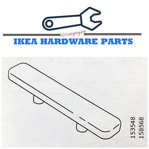 4 Ikea Black Plastic Slide For Cabinet Base Replacement Part 153548 158568 Ebay