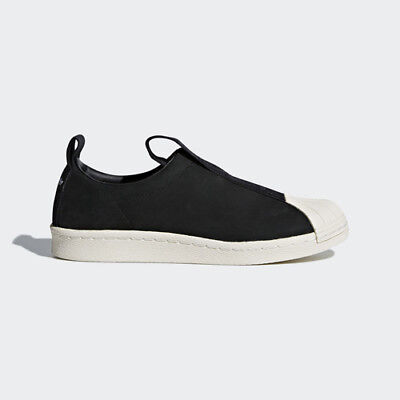 Women Adidas CQ2517 Superstar BW Slip on Casual shoes black white sneakers | eBay