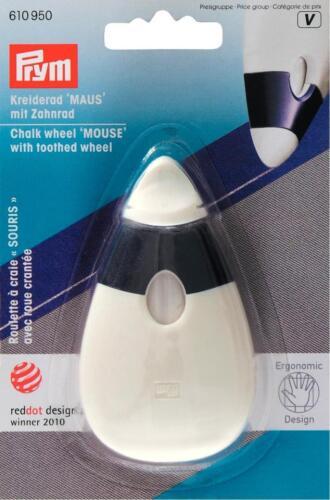 Prym Kreiderad Maus   ergonomic Kreide Kreiderad mit Zahnrad 610950
