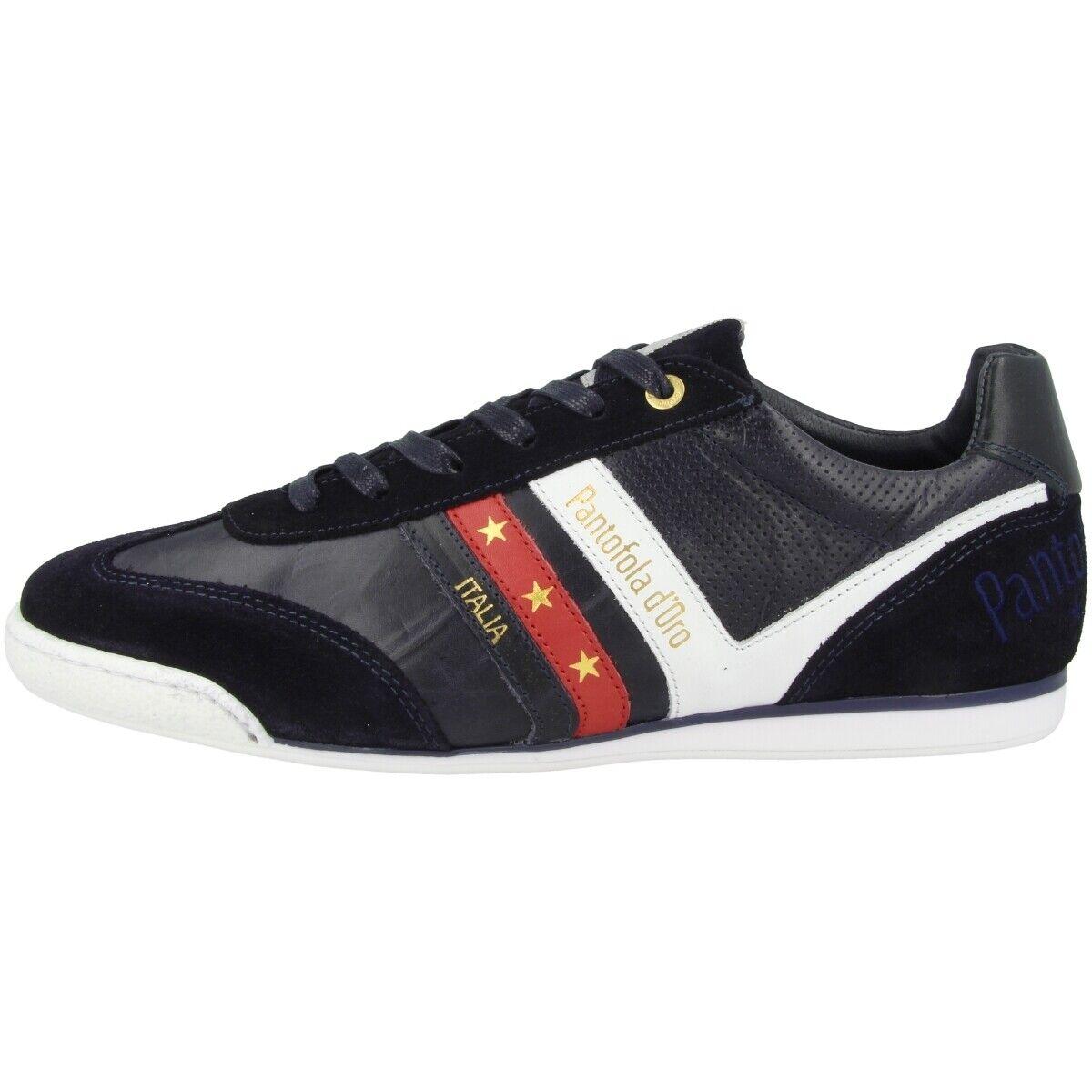 Pantofola d Gold Vasto herren Low Loreto Schuhe Herren Turnschuhe Blaus 10201045.29Y