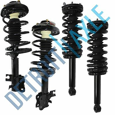 Set of 4 Front /& Rear Quick Complete Struts /& Coil Spring Assemblies Compatible with 1995-1999 Nissan Maxima