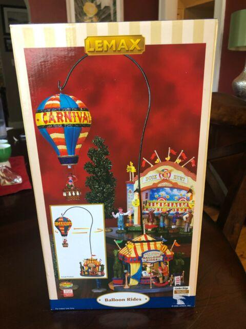 Lemax Village Collection Balloon Rides 2006 Carnival Rare Collectible Figure