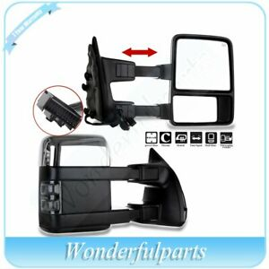Right+Left Side New Mirrors Set of 2 Heated LH /& RH Ford F-250 Super Duty Pair