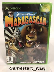 MADAGASCAR-XBOX-VIDEOGIOCO-NUOVO-SIGILLATO-NEW-SEALED-PAL-VERSION