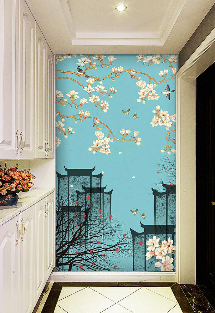 3D Ancient Town View 45 Wall Paper Exclusive MXY Wallpaper Mural Decal Indoor AJ