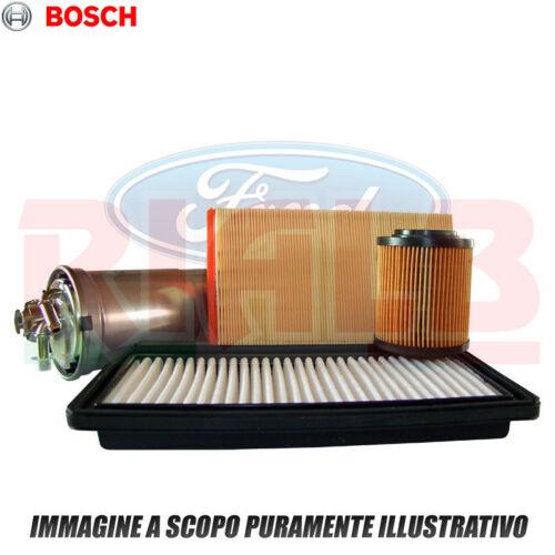 115 CV 03//2001 /> 11//2004 Kit 4 filtri Bosch per Ford Focus 1.8 TDCi 85 kw