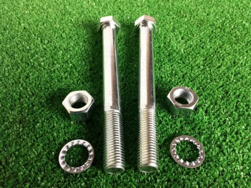 Tow Bar Tow Ball Bolts M16 X 160mm Long C//w Nuts /& Washers 8.8 HIGH TENSILE