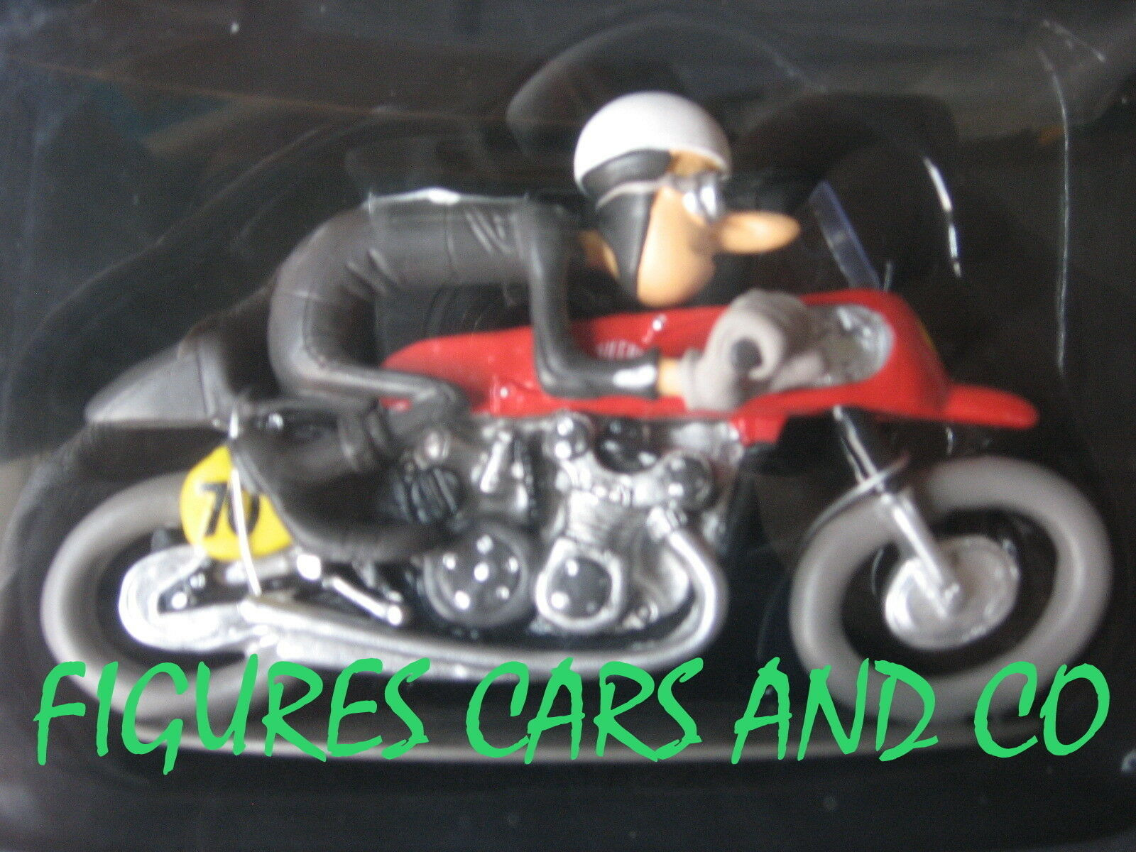 SERIE 2 MOTO JOE BAR BAR BAR TEAM 82 GILERA 500 4 1955   GEOFF DUKE c651ae