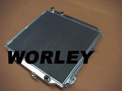 2Rows Aluminum Radiator For Toyota Surf KZN185 Prado KZJ90 /& KZJ95 96-02 MT