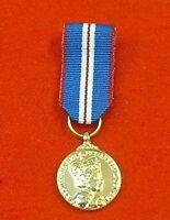 SWING MOUNTED GOLDEN JUBILEE MINIATURE MEDAL ENG Medals