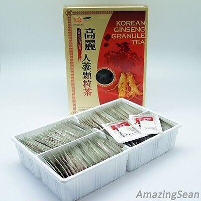 Ginseng Granule Tea 100 Bags, 50 Bags Anti-aging & Anti Stress Korea Ginseng Tea