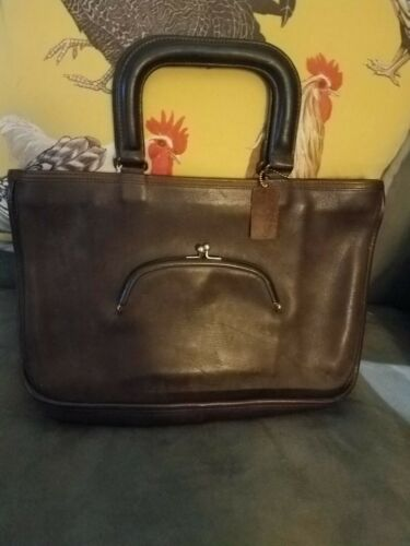 Vintage Coach Bonnie Cashin Leather Watermelon Bag