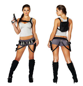 Tomb raider sexy costume
