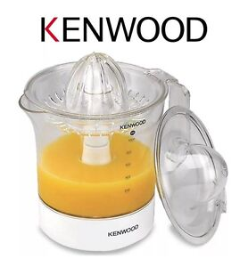 Details about Kenwood JE280 1 Litre Two Way Rotation Citrus Press Juicer in White New