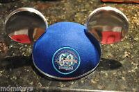Disneyland 60th Anniversary Blue Mickey Ear Diamond Jubilee Hat