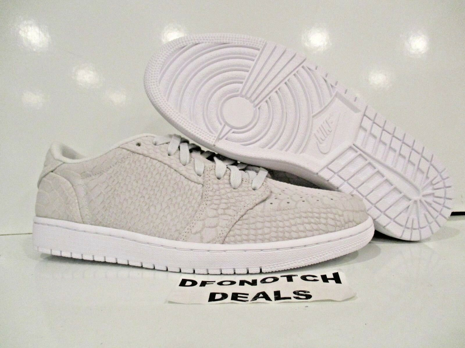 Nike Air Jordan 1 Retro Low NS Men's Sz 10.5 Off White 872782-111 NEW MSRP  150