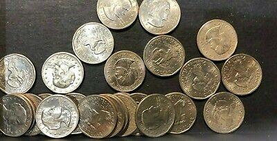 Lot of 20 Random Susan B Anthony Silver Dollars 1979-1999 SBA $1 Coin Hoard!