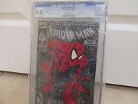 Spider-Man #1 - SILVER Edition CGC 9.8 (marvel 1990) Lizard