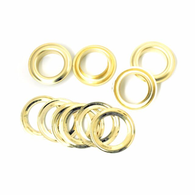 18mm or 20mm Silver Eyelets with Washers UK Seller for Banners 50 x 16mm