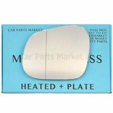 For Seat Altea XL 06-16 Right Driver side Aspheric wing mirror glass