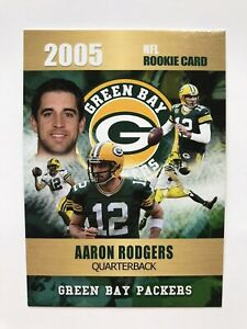 2005-Aaron-Rodgers-Rookie-Card-Rookie-Phenoms-Limited-Edition-Green-Bay-Packers