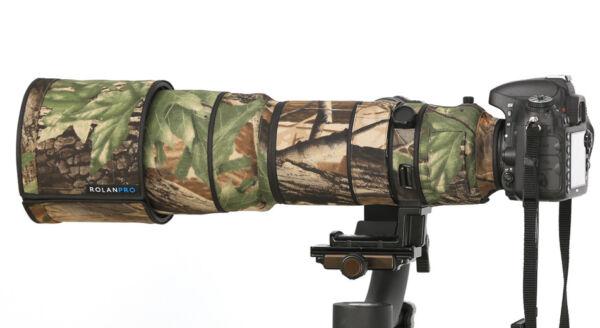 AgréAble Rolanpro Nylon Lentille Camouflage Housse De Pluie Nikon Af-s Vr 200-400 Mm F/4g Ed Vr Une Performance SupéRieure