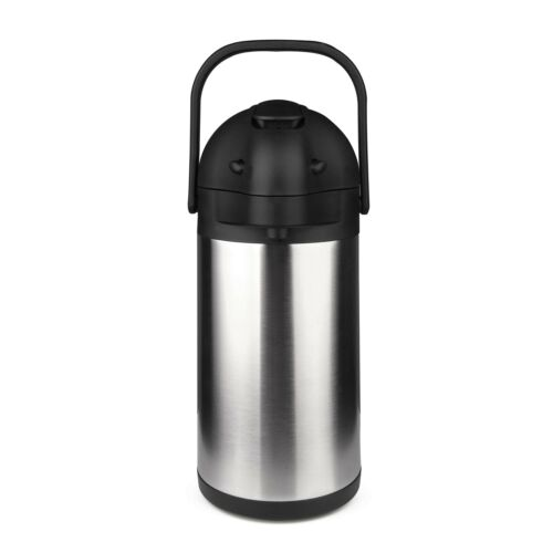 2.2L Airpot Thermal Coffee Carafe//Lever Action//Stainless Steel Insulat... 74oz