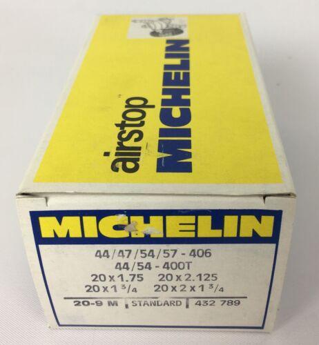 Michelin Airstop Bike Inner Tube 20 x 1.75-20 x 2.125 Standard NOS 20-9 M