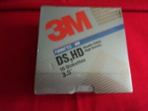 NEW 3.5 HIGH DENSITY FLOPPY/'S QUANTITY 20 BOXED 2 BOXES OF 10