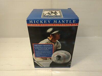 Sport Verantwortlich All Star Heroes Mickey Mantle Limitierte Auflage Sammler Set Baseball Coa T2201 Zahlreich In Vielfalt