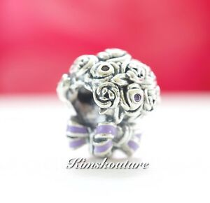 f5eed9750 Image is loading Authentic-Pandora-Celebration-Bouquet-Charm-Lilac-amp-Pink-