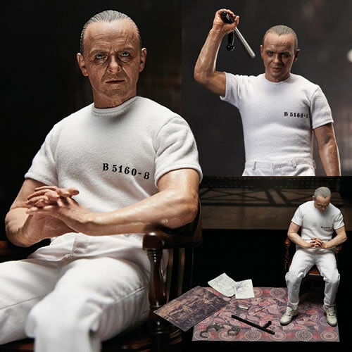 The Silence Of The Lambs Figures 1 6 Scale Hannibal Lecter Weiß Prison Uniform
