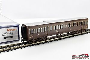 ROCO-74685-H0-1-87-Carrozza-passeggeri-FS-Centoporte-Bcz-66512-di-2-e-3-Cl