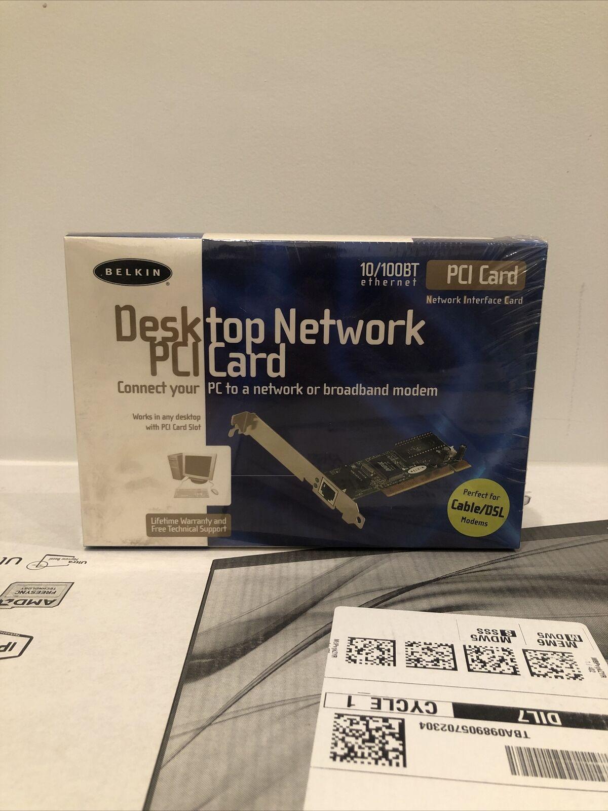 Belkin Desktop Network PCI Card