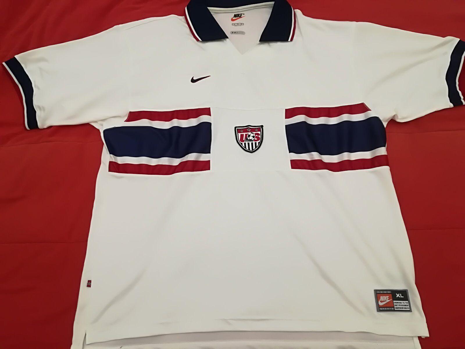 Maglia calcio Stati Uniti USA football camiseta shirts soccer Größe XL no match