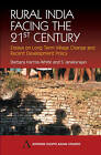 Rural India Facing the 21st Century: Essays on Long Term Village Change and Recent Development Policy by Anthem Press (Paperback, 2004)