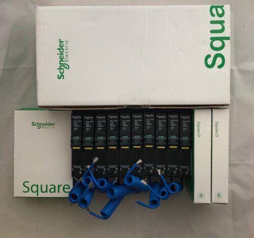 Schneider Square D QOvs 907208 10A RCBO QO110vs6 10 Amp 30mA Type C C10 6kA