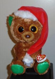 6322fad91ec Ty Beanie Boos - NICHOLAS the Christmas Bear 8-9