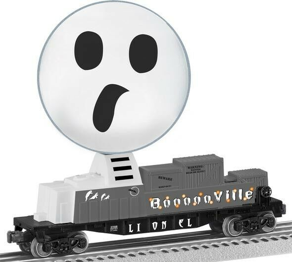 Lionel  6-37058 Halloween Ghost Globe Operating Car new in the box