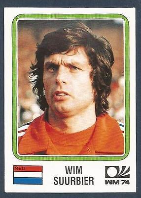 PANINI WORLD CUP STORY #086-MUNICH 74-NEDERLAND-HOLLAND-WIM VAN HANEGEM