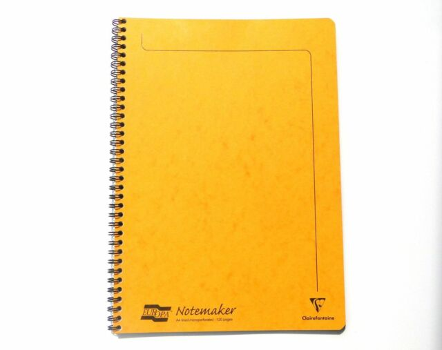 Yellow Mini Spiral Shopping List Paper Notebook Notepad 120 Page Pocket Jotter Journal