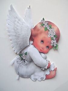 3D UPick New09 Baby Angel Fairy African American  Card Scrapbook Embellishment